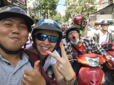 Explore Saigon by Sitting on The Back of Motorcycles